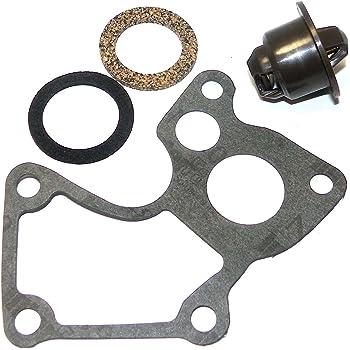 780-155 WSM Johnson Evinrude 200-250 Hp 90 Degree V6 Thermostat Kit 133°F