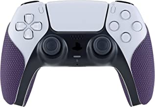 eXtremeRate PlayVital Purple antiderrapante com controle absorvente de suor para controle Playstation 5, almofadas de borr...