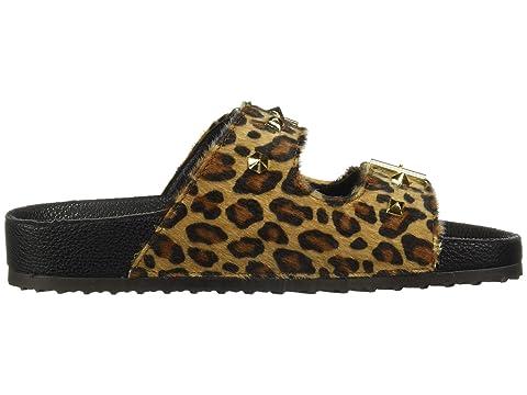 Sandal ShimmerTan Dirty Shimmer Leopard Quinn Slide ShimmerWhite Silver PonTan Laundry qPwwFaptxH