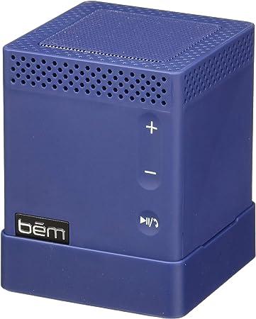 BEM Wireless Speaker Mojo Bluetooth Speaker with Powerbank - Red Blue