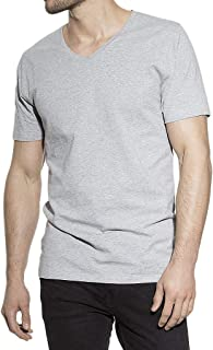 Bread and Boxers Mens T-Shirt V-Neck, short sleeves, solid color, S-XXL