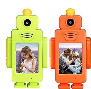 Retevis RT34 Walkietalkie met Camera,2,4G Babyspeelgoed 2-inch Display, 2-in-1 USB-oplaadbaar, Ingebouwde LED-zaklamp Kleu...