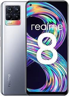 Realme 8 UK Cyber Silver 6GB + 128GB 177 g