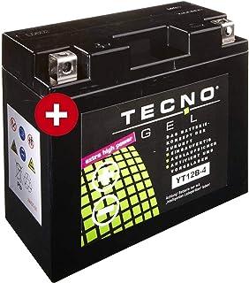 YT12B 4 TECNO GEL Batterie für YZF R1 1000 Baujahr 1998 2003