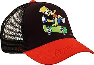 قبعة شارع سمسم سيسم، قبعة بيسبول Elmo أو بارت سيمبسون للأولاد الصغار من سن 2-7