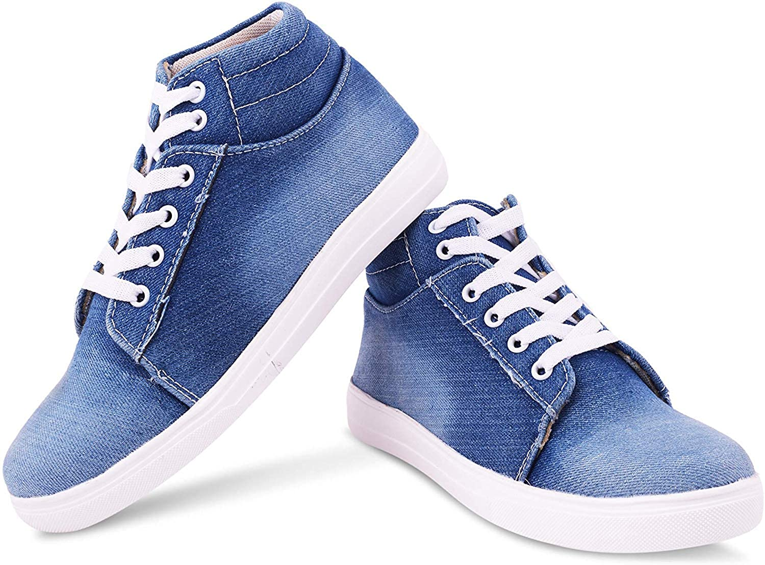 Buy Fashion Feet Casual Denim Sneakers Shoes for Women & Girls at Amazon.in
