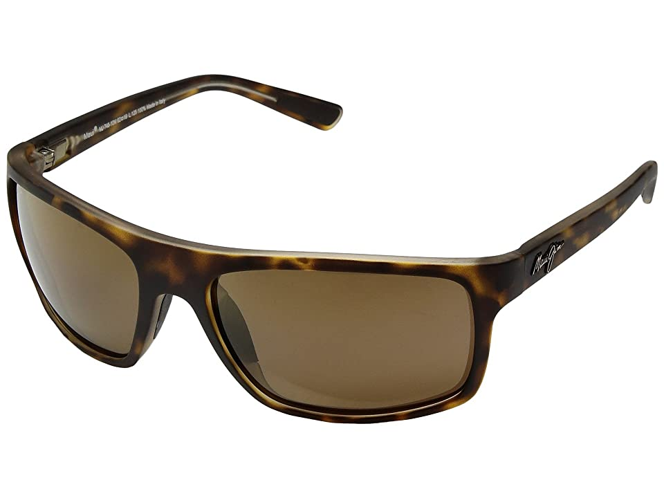 Maui Jim Byron Bay (Matte Tortoise/HCL Bronze) Athletic Performance Sport Sunglasses
