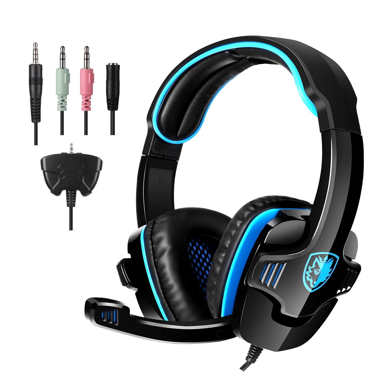 SADES Headset Headphone Microphone SA 708GT