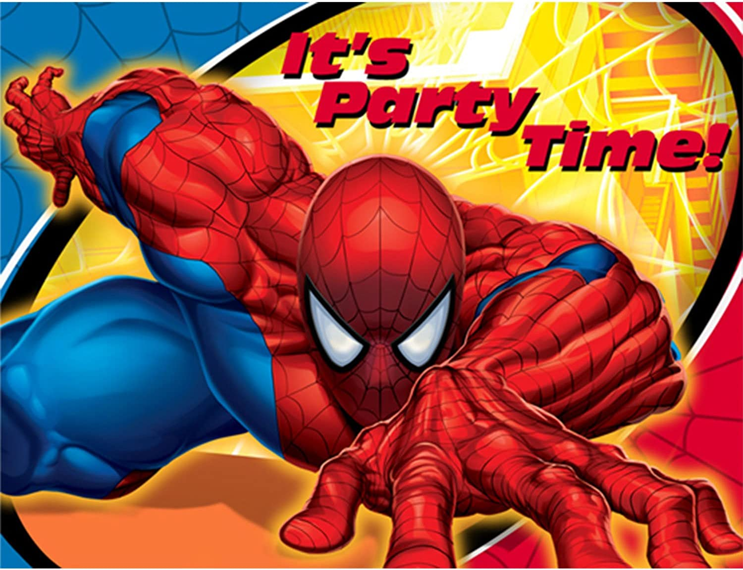 Hallmark 160850 Spider Sense Invitations