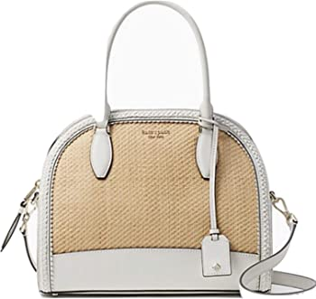Kate Spade New York Reiley Straw Large Dome Womens Satchel