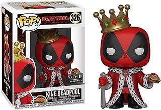 Funko King Deadpool (f.y.e. Exclusive) POP! Marvel Vinyl Figure & 1 POP! Compatible PET Plastic Graphical Protector Bundle...