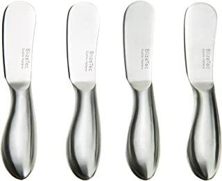 Spreader Knife Set: BlizeTec Multipurpose Cheese and Butter Spreader Knives (4 Pcs)