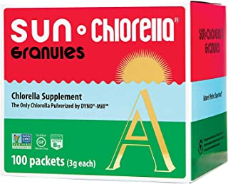 SUN CHLORELLA - Chlorella Supplement Granules (3g - 100 Packets)