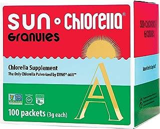 SUN CHLORELLA - Chlorella Supplement Granules (3g - 100 Packets)