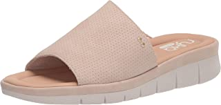 Ryka Women's Ellie Slide Sandal, Taupe Brown, 8.5