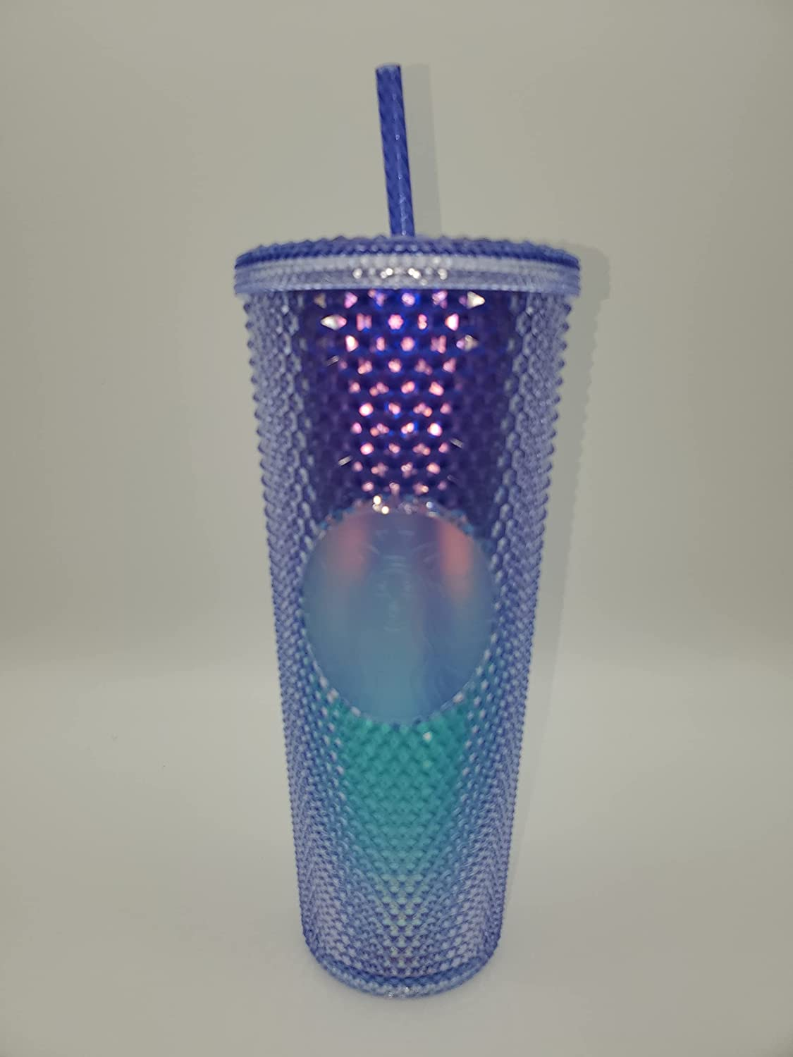 Starbucks Studded Blue Ombre 24oz Genuine Free Shipping Cup Cold 2021 sale Plastic