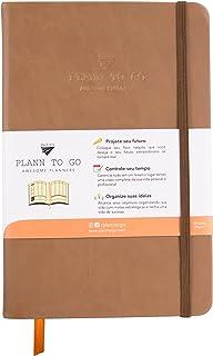 Planner Plann To Go Caramel - (Não Datado) - Anual - Layout Mensal e Semanal - Cor Caramelo