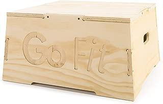 GoFit High Wooden Plyo Box