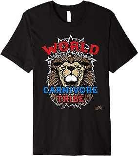 World Carnivore Tribe Lion Premium T-Shirt