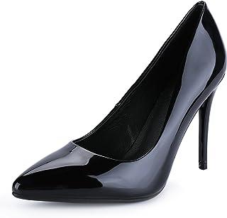 aeebabf9a IDIFU Women's IN4 Classic Pointed Toe Stiletto High Heel Dress Pump