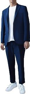 [スティングロード] セットアップスーツ 軽量ストレッチジャケット アンクル丈パンツ 上下セット ウォッシャブル 20AWJKPN-AM-2 メンズ