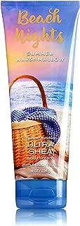 Bath & Body Works Beach Nights Summer Marshmallow Ultra Shea Triple Moisture Body Cream 8 ounce Hand Body Lotion