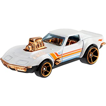 Hot Wheels PERAL & Chrome - 68 Corvette - Gas Monkey Garage Car