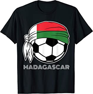 Madagascar Soccer Fans Kit 2019 Africa Football Supporters T-Shirt