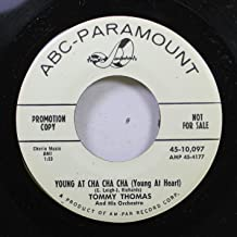 Tommy Thomas and His Orchestra 45 RPM Young at Cha Cha Cha (Young At Heart) / He'll Have to Stay