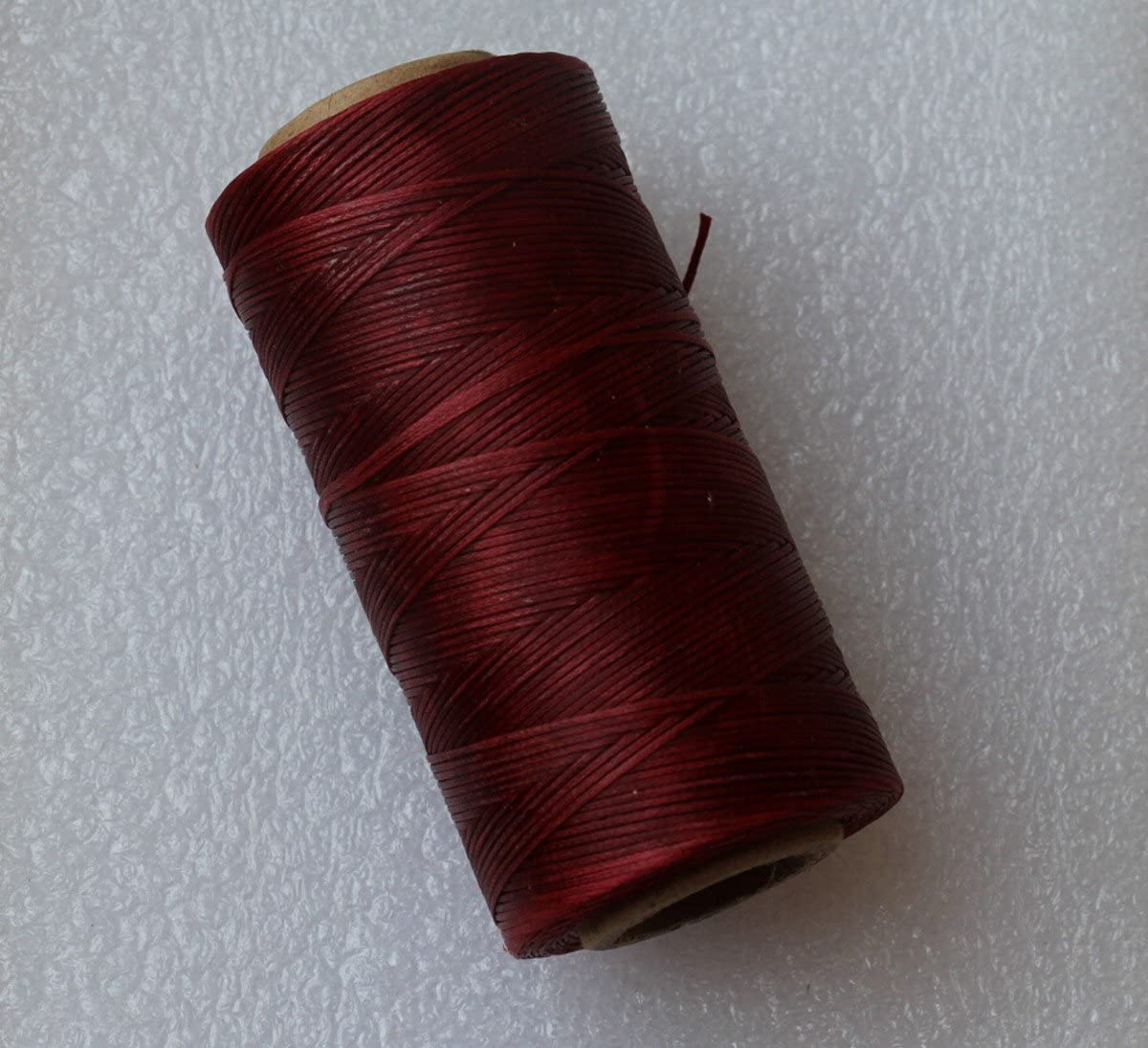 WellieSTR Great interest 284yrd Red Coffee Leather He Sewing Craft Ranking integrated 1st place Waxed Thread