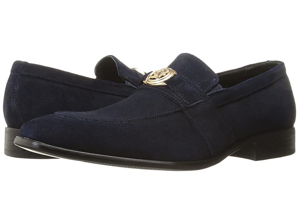 Stacy Adams Mandell (Navy Suede) Men