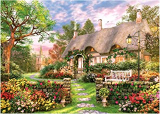 1000pcs Jigsaw Puzzles Smart Game for Adults Puzzle for Children Over 6 PZZ-01 (English Cottage)