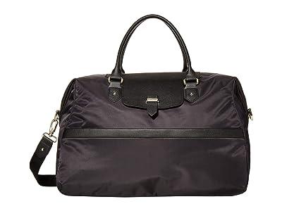 Lipault Paris Duffel Bag (Jet Black/Light Gold) Bags