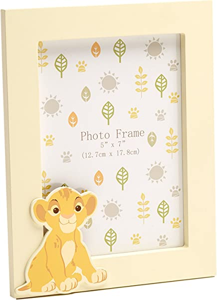 Disney Lion King Picture Frame With Character