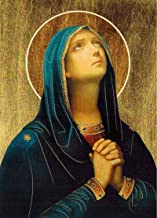 Virgin Mary POSTER A4 Our Lady of Sorrows print Blessed Mother picture Holy Mary image Madonna painting Catholic christian Religious Wall Art for Home Room Gift
