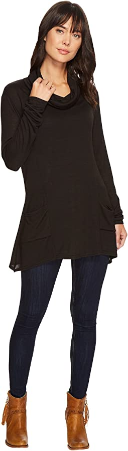 Roper - 1297 Sweater Jersey Cowl Neck Tunic