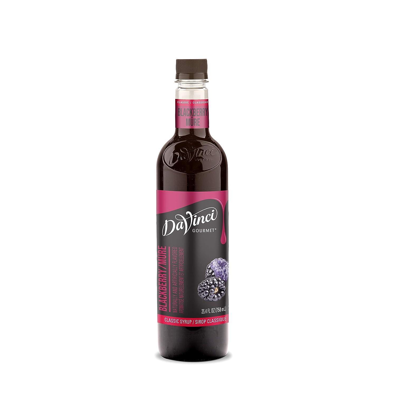 DaVinci Gourmet Classic Blackberry Syrup, 25.4 Fl Oz, Pack of 4