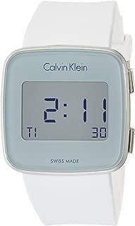 Calvin Klein Women's Digital Watch with Silicone Strap K5C21UM6