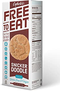 Cybele's Free to Eat , Snickerdoodle, 6 Ounce Box