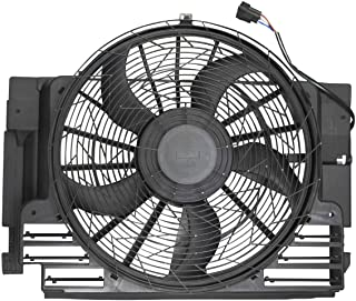 A-Premium AC Radiator Condenser Cooling Fan Replacement for BMW E53 X5 2000-2006 Sport Utility