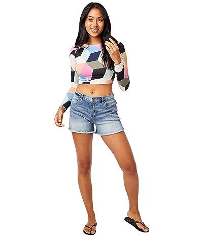Carve Designs Maui Shorts (Beach Blue) Women