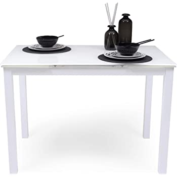 Homely Mesa de Cocina Extensible Paris Total White sobre de ...