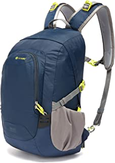 Pacsafe Venturesafe GII 25 Liter Anti Theft Travel Backpack / Daypack (Navy Blue)