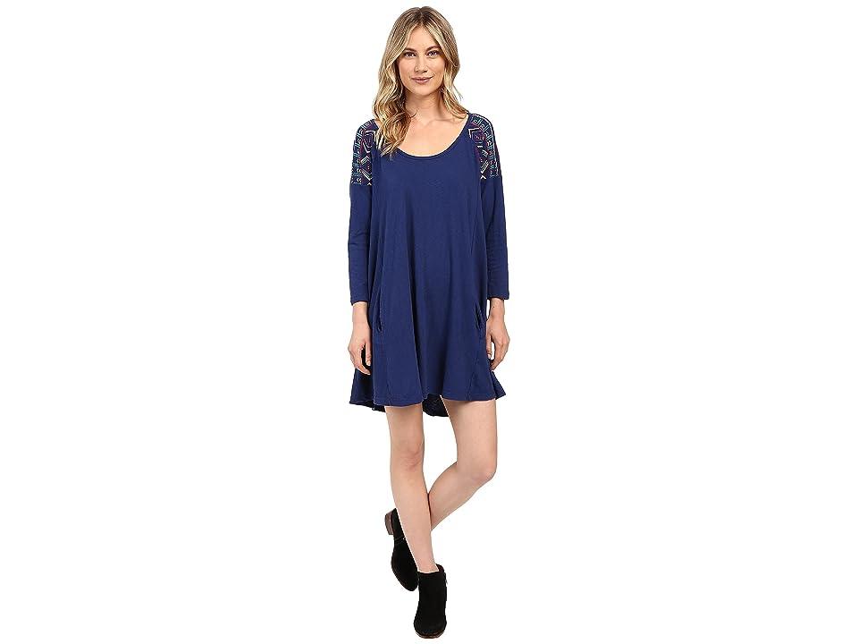 Roxy Bay Dreamer Dress (Blue Print) Women