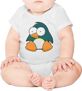 ca5d30ebf580 epoyseretrtgty Short Sleeve Unisex Baby Penguin Cartoon Funny Clothes