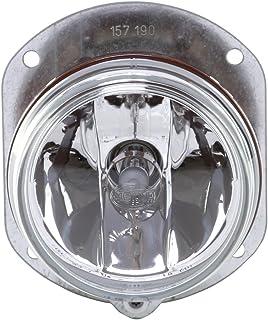 HELLA 1N0 008 582 001 FF/Halogen Nebelscheinwerfer   12V   rund   Einbau   glasklare Streuscheibe   Lichtscheibenfarbe: transparent   links/rechts