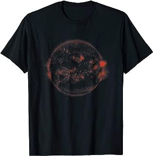 Sun seen in infrared t-shirt