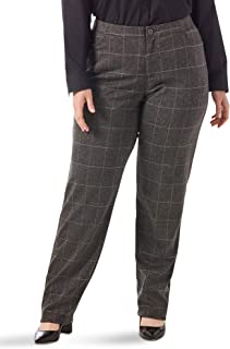 Riders by Lee Indigo Women's Plus Size Comfort Collection Knit L Pocket Pant