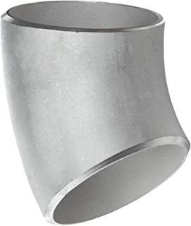 304 Stainless Steel OD18×2 Butt Welding Seamless Pipe Fittings Elbow Union 45 °