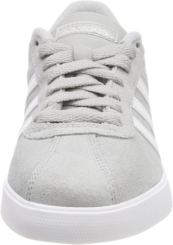 adidas Courtset, Zapatillas para Mujer Gris Grey Footwear White Silver Metallic 0